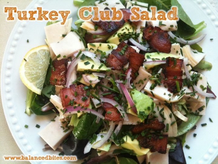 turkey bacon club salad