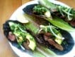 #1: Lamb with Avocado, Onion & Cilantro Lettuce Wraps