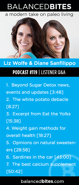Podcast Episode #119: White potatoes, natural sweeteners & calcium supplements